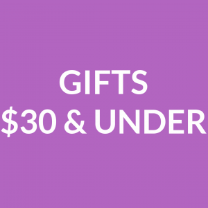 Gifts $30 and Under