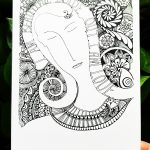 colorless art print - holiday gift