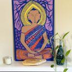 LS-Buddha-pink-wood-panel-7