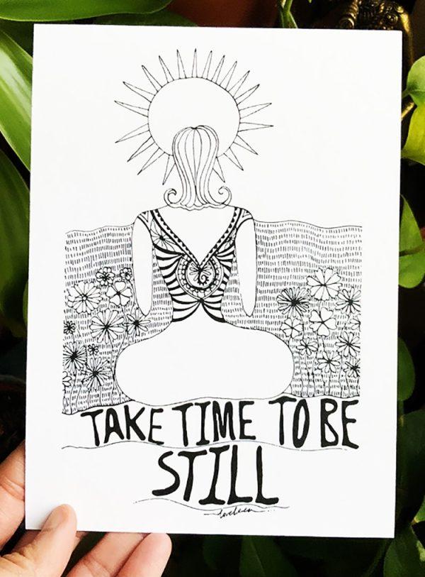 Self love affirmation prints - gift card