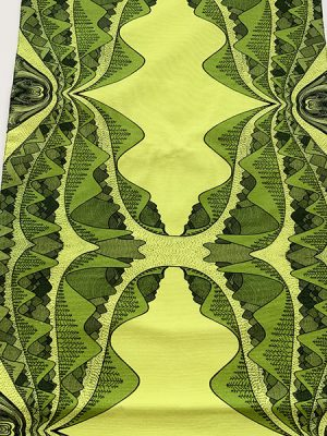 earth collection - yellow and green mountain runner
