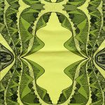 yellow and green mountain runner - earth collection
