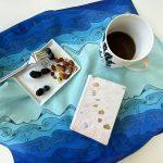 Ocean brings me serenity - table napkin