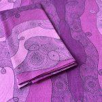 Infinite energy - purple table napkins