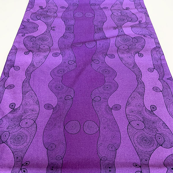 I am limitless - purple table runner