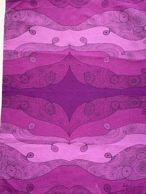 I am receptive - purple tea towels