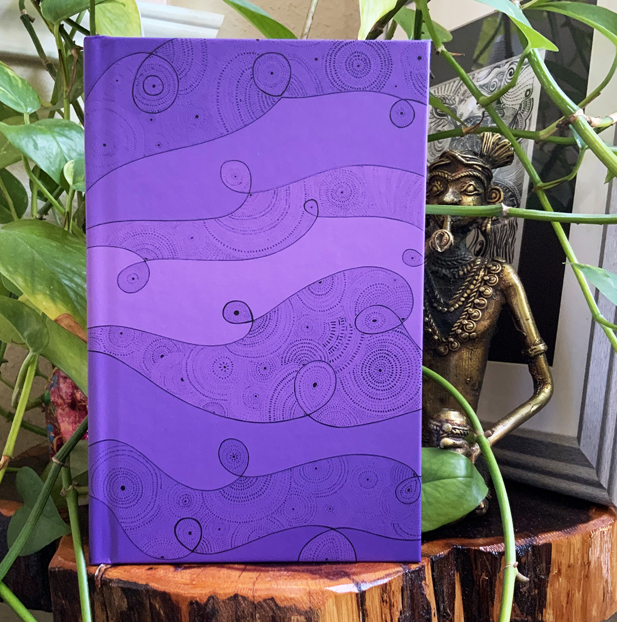 Peaceful moments journal - Cosmos front