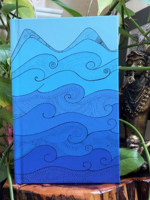 Peaceful moments journal - ocean waves