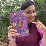 Abundant thoughts journal - Colorful Flowers