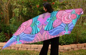 spread my wings scarf